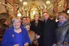Świąteczne kolędowanie z para prezydencką