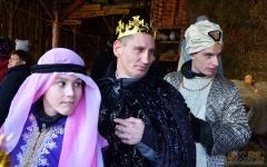 Spotkanie z Trzema Królami i wspólne kolędowanie