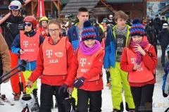 Prezydent Andrzej Duda na nartach w Istebnej