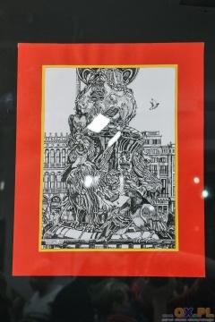 Wernisaż wystawy grafiki Andrzeja Gawłowskiego