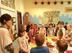 Warsztaty zdrowego gotowania dla dzieci.