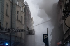 Pożar w Cieszynie
