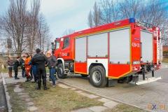 Strażacy powitali Nowy Rok