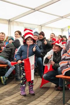 Puchar Świata w Wiśle - strefa kibica (sobota)