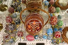 Niezwykłe jaja na wystawie