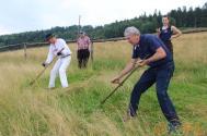 XII Mistrzostwa w koszeniu łąki w Brennej / fot. MSZ