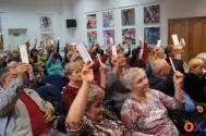 seniorzy podczas walnego spotkania w 2019 roku/ fot JŚ