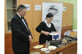 Projekt EFS \''Każdy może zostać mistrzem gastronomii\''