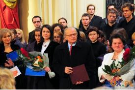 Chóry spiewaja muzykę prof. Józefa Świdra