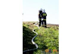 Ćwiczenia OSP w Marklowicach