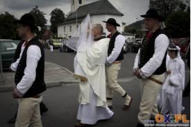 Procesja odpustowa w parafii pw. Św. Jana Chrzciciela