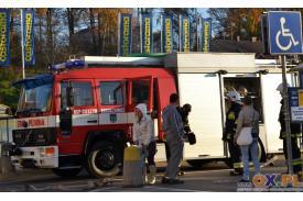 Cieszyn: gminne ćwiczenia strażackie