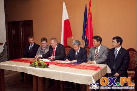 Podpisanie umowy polsko-chińskiej