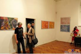 Wernisaż wystawy grafikiprofesora profesora Janusza Akermann