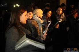 Skoczów: wspólne śpiewanie kolęd