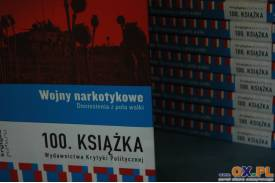 Promocja książki \''Wojny narkotykowe. Doniesienia z pola wa