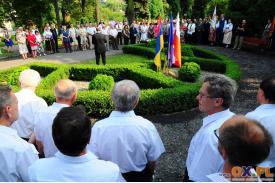 Cieszyn: Uroczystość 120-lecia Urodzin Gustawa Morcinka