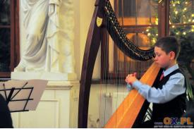 Nowy Rok z Harfą w Cafe Muzeum
