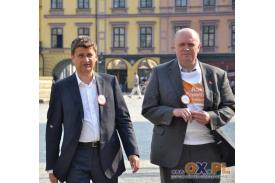 Spotkanie z Januszem Palikotem w Domu narodowym