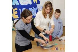 Dzień z eksperymentem w Gimnazjum nr 2 w Skoczowie