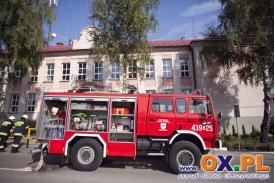 Pożar Szkoły w Goleszowie