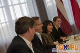 Wizyta Prezydenta Republiki Łotewskiej w Polsce