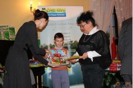 Rozdanie nagród w konkursie pt. Złota rybka - moje marzenie