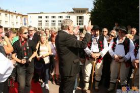 Wisła: odsłonięcie tablicy honorowej Jana Szturca