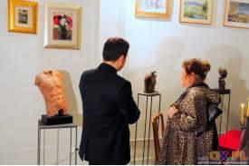 Wernisaż wystawy rzeźb Maksymiliana Kapalskiego