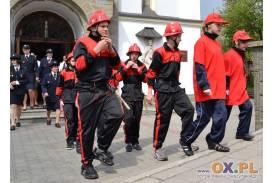 Poświecenie nowego wozu bojowego w OSP Koniaków