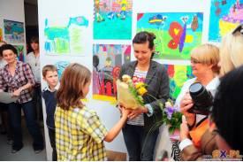 Doroczna wystawa rysunków dzieci \''Przestworza Wyobraźni\''