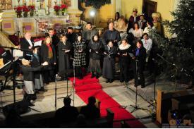 Koncert Świąteczny Gimnazjum Polskiego w Czeskim Cieszynie