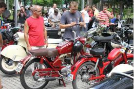Zlot motocykli w Strumieniu