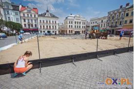 Plaża OPEN - Przygotowania