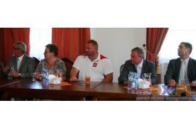 Konferencja prasowa Janusza Rokickiego