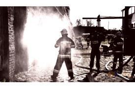 Chybie: ćwiczenia strażackie