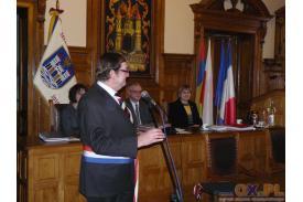 Podpisanie umowy pomiędzy Miastem Cieszyn a Miastem Cambrai