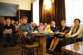 Spotkanie z poetką Jolantą Skóra