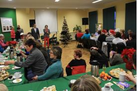Wigilijne spotkanie w Bibliotece Miejskiej w Cieszynie