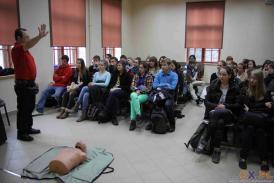 V Festiwal Nauki: udzielanie pierwszej pomocy - wypadki...