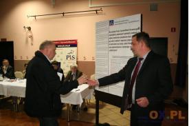 Spotkanie wyborcze w Chybiu