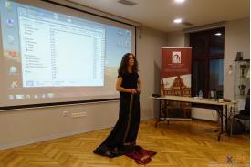 \''Sama w Indiach\'' - prezentacja multimedialna