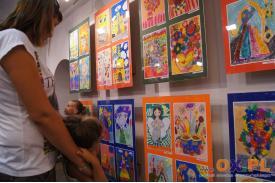 Prace młodych artystów