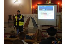 Spotkanie z policjantem w Bąkowie
