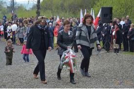 Uroczystości 3- Maja 2016 w Wiśle