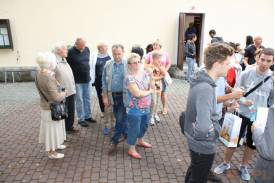 ŚDM: Przyjazd Włochów do Ustronia