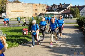 VI Błękitny Marsz Nordic Walking \'\'Kijami w cukier\'\'
