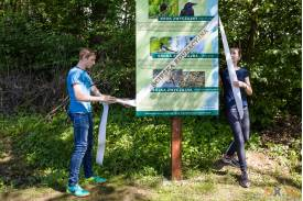 Pogórze: Otwarcie ścieżki edukacyjno-przyrodniczej