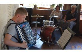 Koncert akordeonowy w Avionie