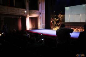 Wojenne losy Skoczowa na scenie